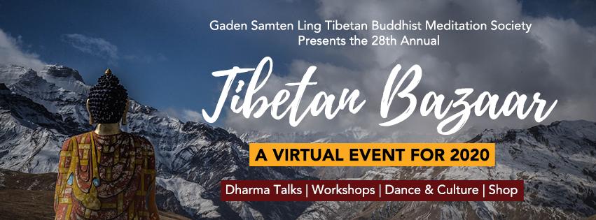 Edmonton Tibetan Bazaar - Virtual Summit - Online Dharma Talks, Tibetan Cultural Videos, and Online Shopping